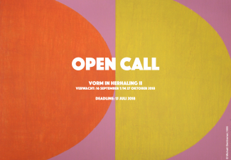 open call vorm in herhaling